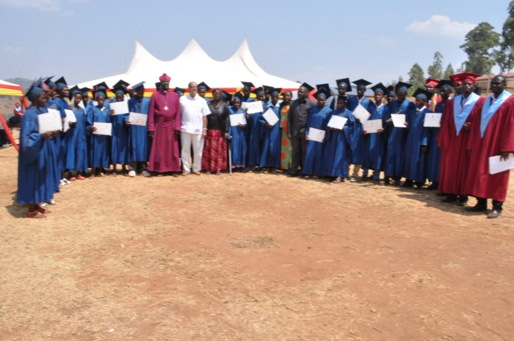 First Graduation Certificates from VTC Mubumbano